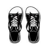 black_amp_white_flip_flops