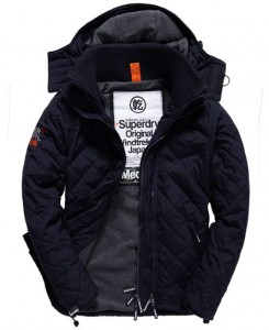Men's Quilted Windcheater